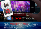 Live Traxs Artists Signup